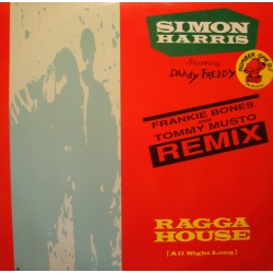 "SIMON HARRIS ragga house FRANKIE BONES/TOMMY MUSTO MAXI 12"" 1990 VG++"