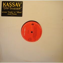 "KASSAV' difé soupapé (4 versions) MAXI 12"" 1995 Columbia Beroard EX++"