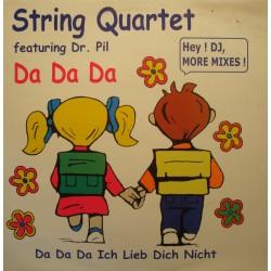 STRING QUARTET feat DR. PHIL da da da ich lieb dich nicht REMIX MAXI 1998 VG+