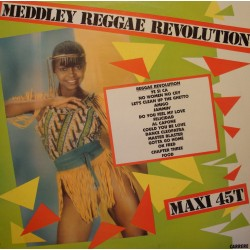 "MEDDLEY REGGAE REVOLUTION no women no cry/amigo/al capone MAXI 12"" 1981 VG++"
