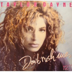 TAYLOR DAYNE don't rush rue/on the darkness MAXI 1988 ARISTA VG++