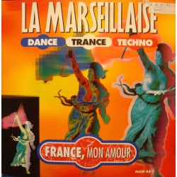 "FRANCE MON AMOUR la marseillaise (2 versions) MAXI 12"" 1993 DO RE MI VG++"