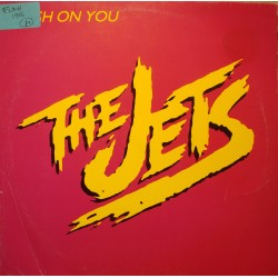 """THE JETS crush on you/right before my eyes MAXI 12"""" 1986 MCA VG++"""