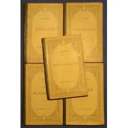 RACINE plaideurs/esther/britannicus/athalie/andromaque Hachette 1918 Theatre++