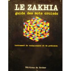 FREDERIC ZAKHIA le zakhia - guide des mots croisés et du scrabble 1973 Rocher++