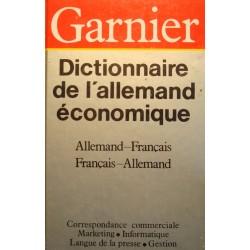 BOELCKE/STRAUB/THIELE dictionnaire de l'allemand économique 1987 Garnier++