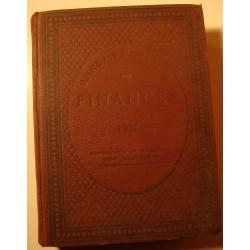ANNUAIRE général des finances 1937 Ed. Berger-Levrault RARE