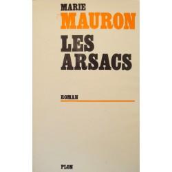 ++MARIE MAURON les arsacs DÉDICACÉ 1972 PLON roman EX++