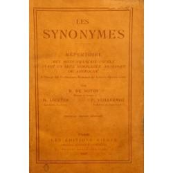 DE NOTER/LÉCUYER/VUILLERMOZ les synonymes 1928 RIEDER rare++